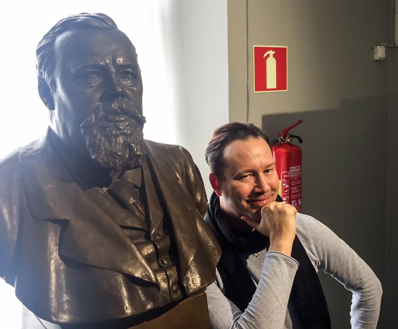 På besök hos Karl Herman
