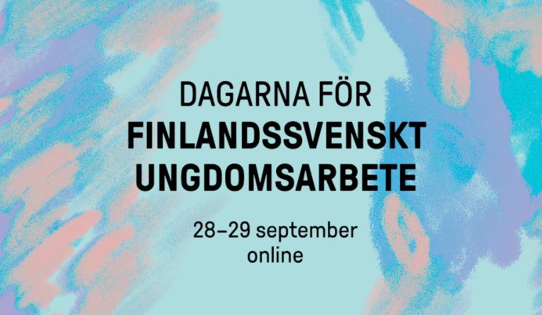 Dagarna för finlandssvenskt ungdomsarbete 2021