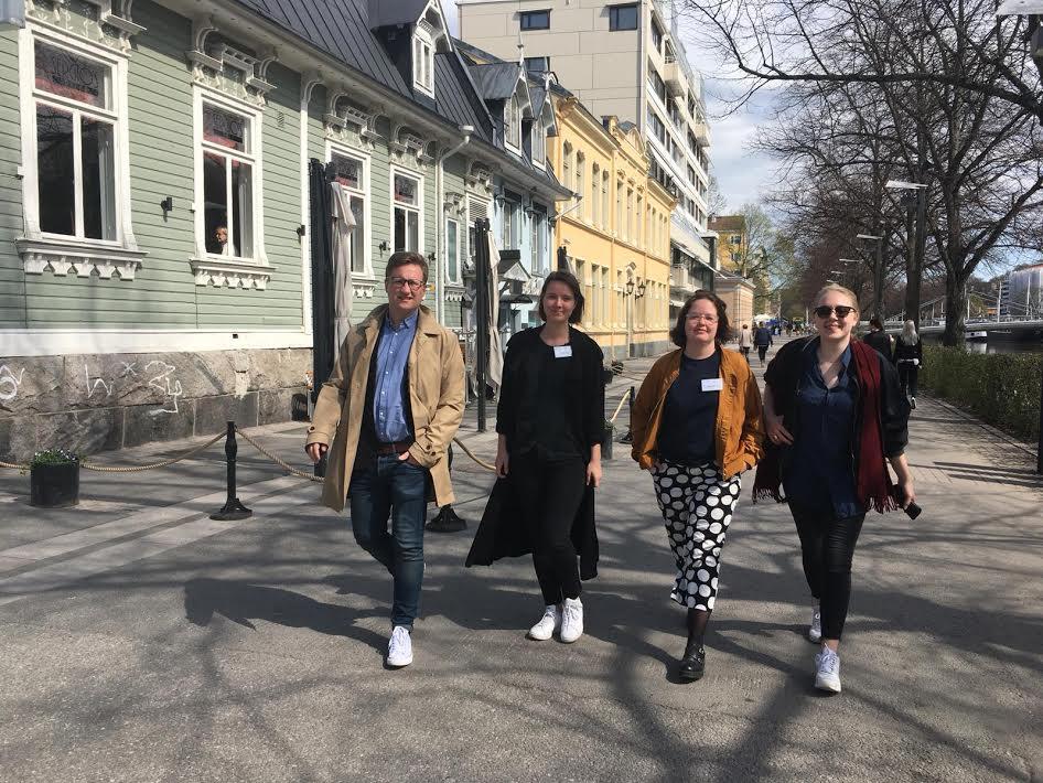 Luckan i Helsingfors besöker Åbo