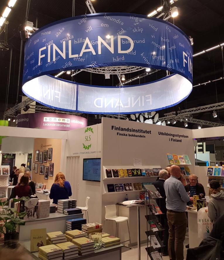 Luckan intressebevakar bokmässan i Göteborg